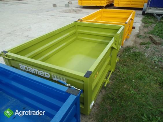 Skrzynia ładunkowa transportowa kontener ciągnik wózek widło ADAMER  - zdjęcie 3