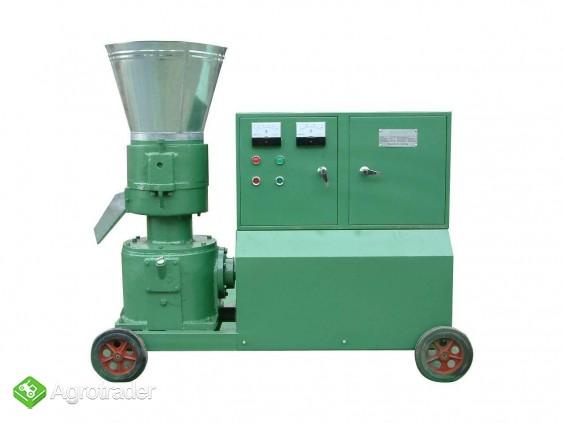 PELLECIARKA: wydajność do 800 kg/h, silnik 22 kW