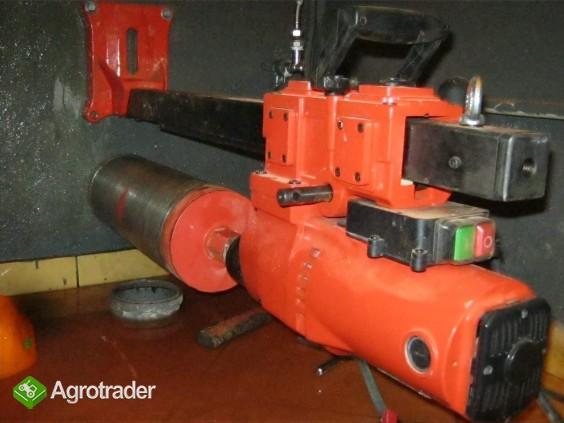 Wiertnica do betonu (otwornica) moc silnika 2600 W, max 255mm, 2 biegi - zdjęcie 3