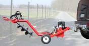 Lekka wiertnica glebowa hydrauliczna o napędzie spalinowym, 9 kM