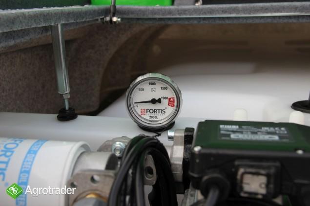 Zbiornik dwupłaszczowy na paliwo on fortis 2000 l cpn  - zdjęcie 5