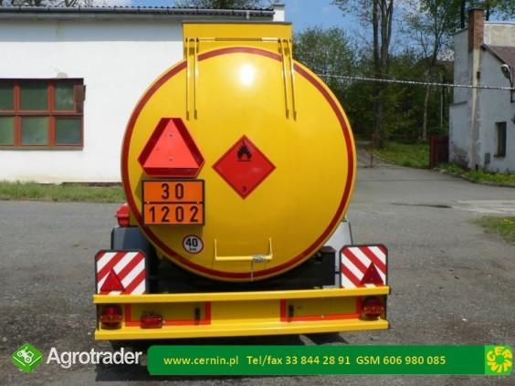 Zbiornik na paliwo 5000 litrów na przyczepie  - zdjęcie 3