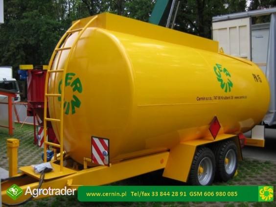 Zbiorniki na paliwo - przyczepa na paliwo  - zdjęcie 6