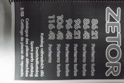 Katalog części ZETOR 8621,8641,9621,9641,10641,11641 FORTERRA TURBO.