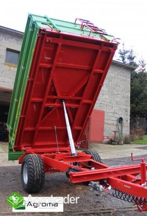 Wywrotka rolnicza Pronar T 654/1 przyczepa jednoosiowa 3,5t - zdjęcie 4