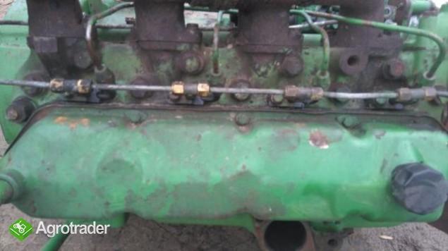 Części silnika John Deere 4 cylindrowy pompa wtryskowa,wal,głowica - zdjęcie 1