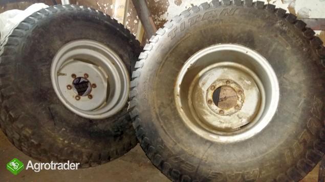 Koła do ciągnika rolniczego  13,6-16 MULTI TRAC używane Titan - zdjęcie 2