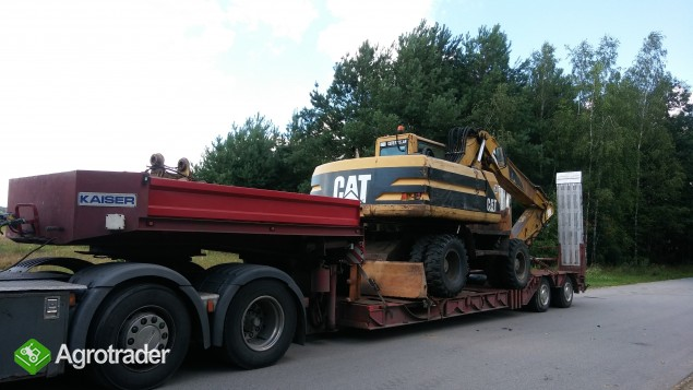 Transport koparek ładowarek maszyn  JCB KOMATSU DOOSAN - zdjęcie 3