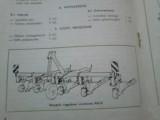 Obsypnik ciągnikowy P-431/0 Jawor,5-rzędowy z chwastownikiem