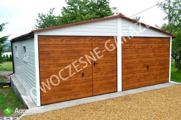 Garaż blaszany blaszak Wiata Hala Magazyn Domek Ogrodowy - zdjęcie 5
