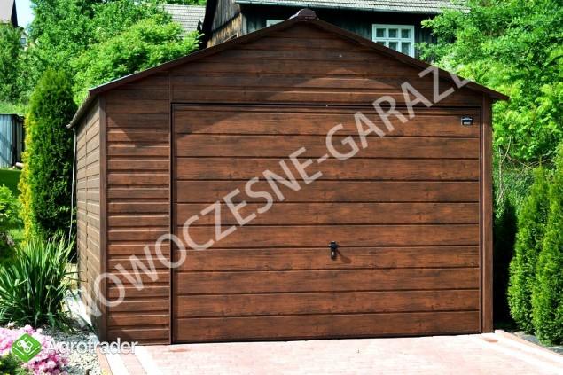 Garaż drewnopodobny przetłoczenia w poziomie CAŁA POLSKA!