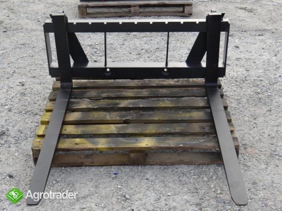 Paleciak Metal-Technik udźwig 2 t widły do palet - zdjęcie 4