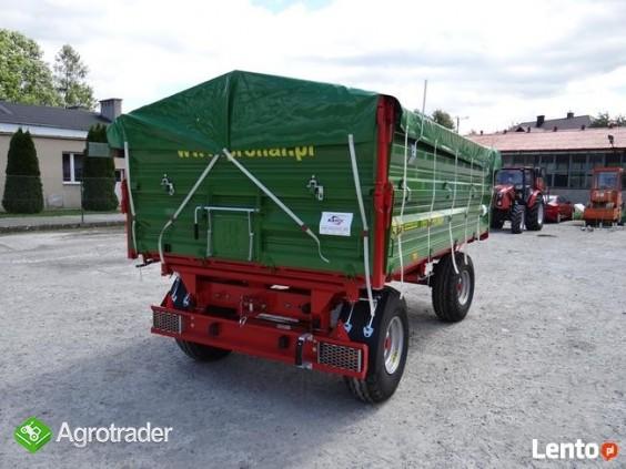 Przyczepa rolnicza 6 t PRONAR T 653/2 od ręki wyprzedaż