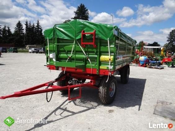 Przyczepa rolnicza 6 t PRONAR T 653/2 od ręki wyprzedaż - zdjęcie 1