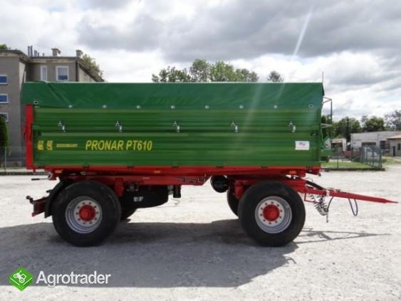 Przyczepa rolnicza 8 t paletowa PRONAR PT608 - zdjęcie 1