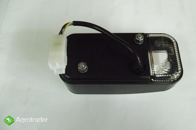 Lampa kierunkowskazu lewa/prawa 162mm/77mm Zetor, Ursus - zdjęcie 2