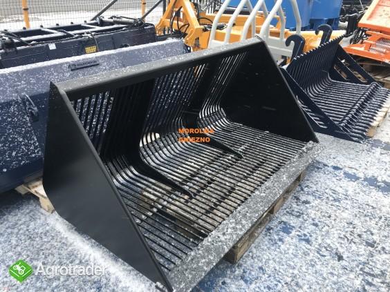 HIT Łyżka do zadawania pasz FK MACHINERY z frezem hydraulicznym i inne - zdjęcie 6