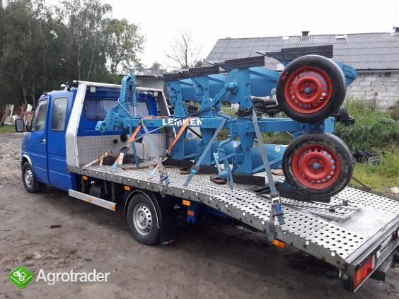 Przewóz maszyn rolniczych