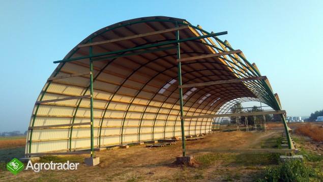 HALA łukowa tunelowa magazynowa hangar 11,8 x 20 - zdjęcie 6