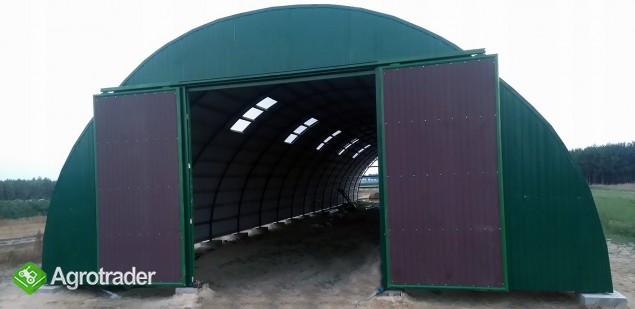 HALA stalowa łukowa hangar magazynowy 10,8 x 50 - zdjęcie 5