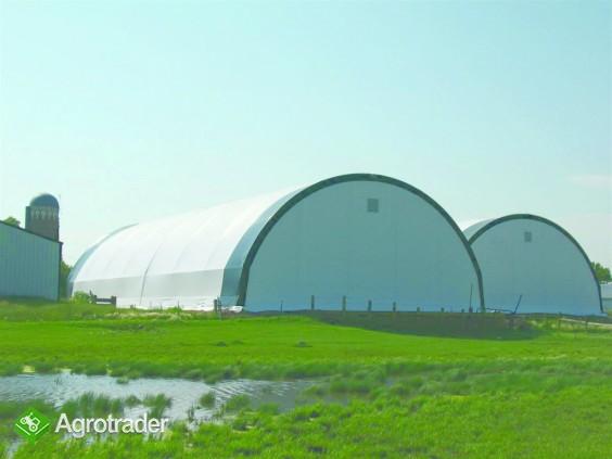 Hala Łukowa Tunelowa Magazynowa Hangar Warsztat 12 x 20 Rolnicza  - zdjęcie 2