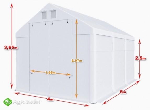Całoroczna Hala namiotowa 4×6×2,5/3,65m