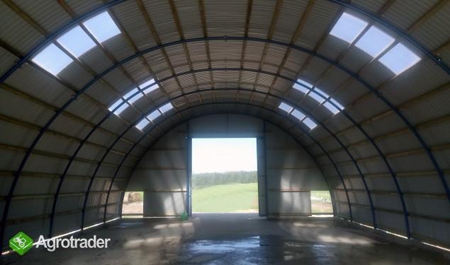 HALA ŁUKOWA tunel rolniczy ciągnik wiata 10,8 x25 - zdjęcie 1