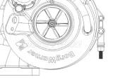 Turbosprężarka 313937 BorgWarner - Deutz
