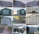 Magazyn Namiot handlowy CAŁOROCZNA hala namiotowa 8mx24mx2,5m/3,96m