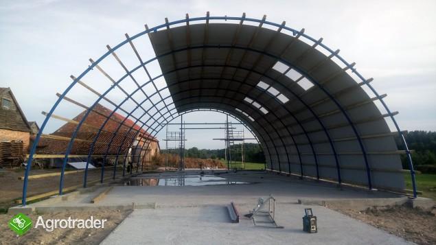 HALA łukowa hangar magazynowy sprzęt 10,8 x 45 - zdjęcie 4