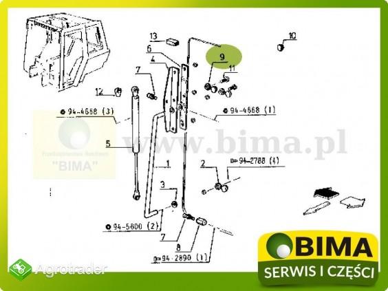 Kołpak śruby mocującej szybę Renault CLAAS 103-12 - zdjęcie 1