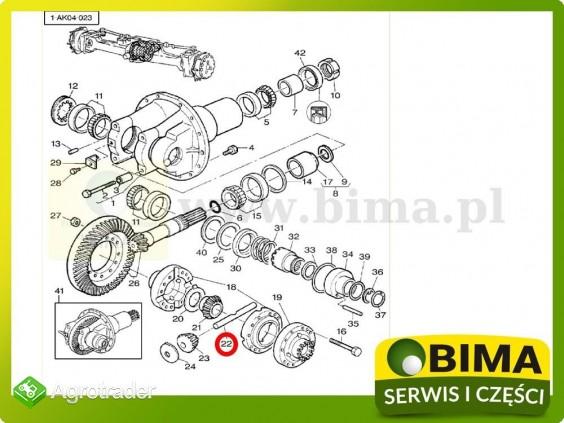 Sworzeń mechanizmu różnicowego Massey Ferguson 290,390E - zdjęcie 1