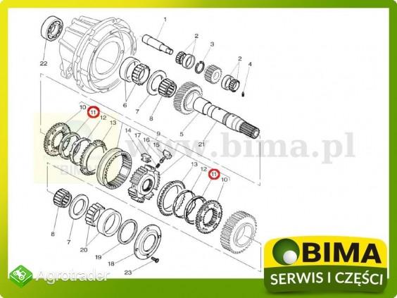 Pierścień synchronizatora rewersu Massey Ferguson 5460 - zdjęcie 1