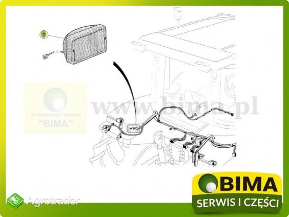 Lampa robocza na błotnik tylny Renault CLAAS Atles 915 - zdjęcie 2