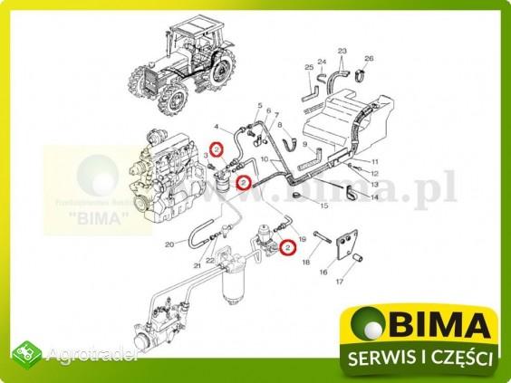Uszczelniacz przewodu paliwowego Landini Globus 50,55 - zdjęcie 1