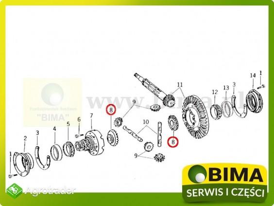 Koło zębate mechanizmu różnicowego John Deere 1140,1640 - zdjęcie 1