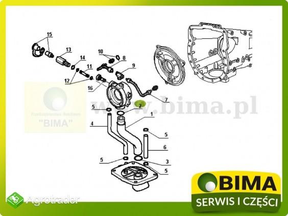 Oring uszczelniacz Renault CLAAS 70-12,70-14,70-32 - zdjęcie 2