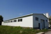 Steel lightweight halls (designing & assembling)