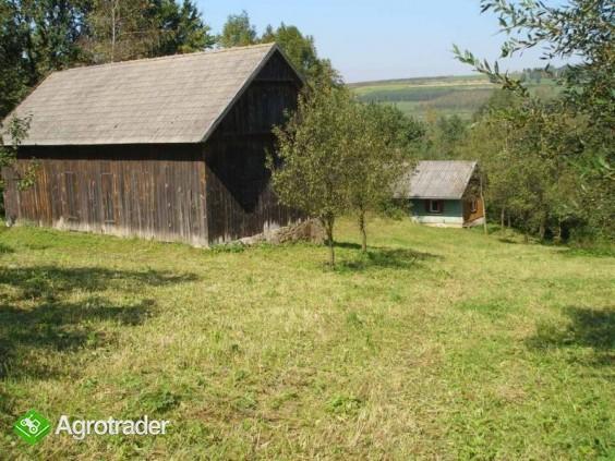 Sprzedam gospodarstwo rolne ok. 2 ha, dom, stodoła - zdjęcie 1