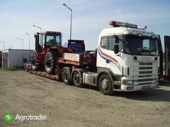 Kombajny,traktory  transport specjalny 600812813 - zdjęcie 5